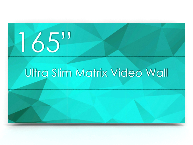 The Next-Generation LCD Video Wall Solution - Audio Visual